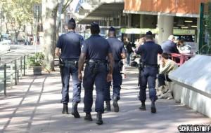 Sécurité au lieu de Liberté?: Französische Polizisten auf Streife in Toulouse