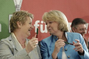 Hannelore Kraft Silvia Lhrmann