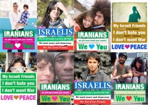 Bilder aus der dezentralen Friedens-Kampagne