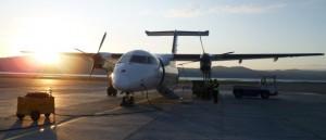 Flugzeug in Alta