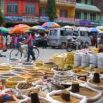 Gewürzmarkt in Phokara