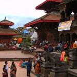 Marktplatz in Patan