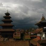 Nyatapola Square mit dem höchste Tempel Nepals