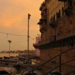 Sonnenuntergang am Ganges (Varanasi)