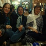 Vier Perserinnen in Isfahan