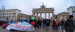 Flüchtlingsprotestcamp