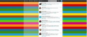 Kommentare zu #kukon während des Tweetups